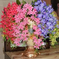 Wholesale 2014 New Wedding Decor Centerpiece Garland Artificial Wisteria Silk Flower Vine Inserted Arches Flowers Christmas Party Decorations Supplies