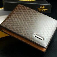 Wholesale New Brand PU Leather Men Wallet Designer x9x2 cm Bifold Wallets For Men Casual Fashion Bags Men Purses