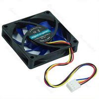 brushless dc fan 12v - Brushless DC Cooling Cooler Fan V Pin Blades x70x15mm Hydro bearing