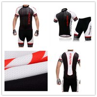polyester mesh shorts - Cycling Jersey Men Cycling Clothes Bike Racing Short Sleeve Sets Riding Mountain Cycle Summer Short Suit Wicking Breathable Mesh Fabric Elas