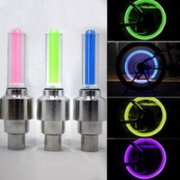 bicycle tires brands - LED Motorcycle Cycling Bike Bicycle Wheel Tire Valve Flashing Light Car Lamp Brand New Good Quality