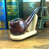 Cheap Wholesale-Smoker New Briar Tobacco Pipe Wooden Smoking Pipe Handmade Pipe for Smoking With Smoking Pipe Stander NB221