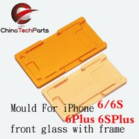 Wholesale Mould glass with frame for iphone G S s Plus sPlus LCD Locate Mold High Precision Mold aluminium alloy holder fixture Clamps