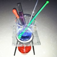 beaker stand - laboratory equipment set test tube Spoon glass dropper beaker tripod stand glass stirring rod Alcohol lamp