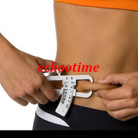 Wholesale 2015 Rushed Real Micrometer Measuring Tool Analyzer with Measure Charts Fitness Keep Health Slim Body Fat Caliper Tester