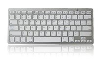 aluminum imac - Universal Ultrathin Aluminum ABS Wireless Bluetooth Keyboard for iPad Android Tablet PC Keys Desktop Computer iMac colors retail pack