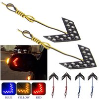 Wholesale 2Pcs set SMD LED Arrow Panel For Car Rear View Mirror Indicator Turn Signal Light east