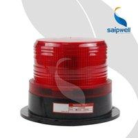 Wholesale IP54 V AC DC waterproof led indicator emergency warning beacon flash led industrial signal alarm traffic light red