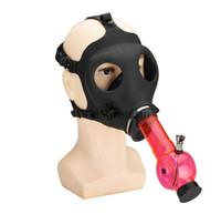 Wholesale Hot Sale Gas Mask Bong Water smoking pipe
