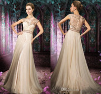 china prom dresses - 2015 Prom Dresses Evening Gowns Formal Elegant Plus Size Corset China Long New Modest Custom Made Chiffon Sheer Crystal Floor Length