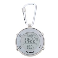 auto weather - Digital Fishing Barometer Sport Watches Fishing Time Remind Function Waterproof Weather Forecast Altimeter Chime Barometer