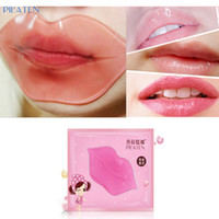 anti wrinkle eye mask - PILATEN BRAND Skin Face Care Crystal Collagen Lip Mask lip care pads Moisture Essence Anti ageing wrinkle gel BY DHL
