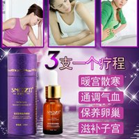 Wholesale SNAZII Essential Oil Women Menstrual Period Care Ovarian Maintenance Dysmenorrhea Treatment Massage Oil
