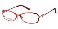 best optical frames - fashion Titanium eyeglass frames light red color womens women lady eye glasses full optical frame best good eyeglasses by china