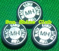 Wholesale layers pigskin MM MH black Kamui cue tips snooker tips