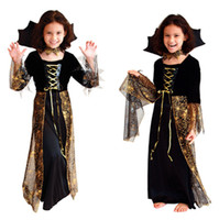 Wholesale 2016 Europe Style Factory Hot Sale Halloween Costume Cosplay Baby Boys Girls Cosplay Wedding Dress Children Clothing