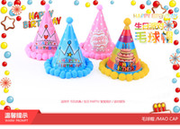 Wholesale Adults Children Birthday Party General wool cap variety radium HQ