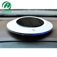 auto hepa filter - 2015 New Solar Car Air Purifier freshener Anion HEPA Filter Ionizer Disinfector Sterilizer Deodorizer UV Light for Auto Home