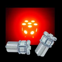 auto used trucks - V S25 Bay15d SMD LED For Car Truck Use Auto Lamp Rear Tail Light Red