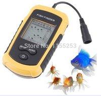 Wholesale Portable Fish Finder Depth Sonar Sounder Alarm Transducer Fishfinder m order lt no track