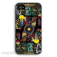apple poker - Personalized Cool Skull Poker King durable plastic phone case protective cover for iphone s s c plus