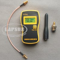 Wholesale GY561 Portable Frequency Counter Tester Power Meter for Two Way Radio Converting connector Mhz Mhz W W