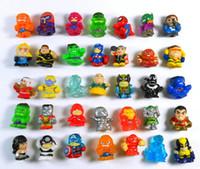 Wholesale Squinkies Marvel Hulk Spiderman mini figures Kids Toys