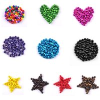 Wholesale New AAA mm DIY Round Wood Spacer Beads for Jewelry Making Bracelet Necklace