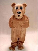 bears trades - Hot sale of true picture brown bear doll Mascot Costumes of foreign trade clothing props doll mascots