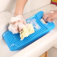 Wholesale Colored plastic laundry washboard mini washboard washboard home bathroom clean hand washboard g
