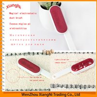anti static foam - 2015 Magic Pet Remover Double Faced Anti static Hair Clothes Dust cleaning Brush Sticky Lint Sticking Roller order lt no track