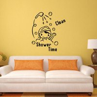 baby bathroom decor - Bathroom wallpaper Decor Waterproof Wall sticker for Babies Room HDE_00P