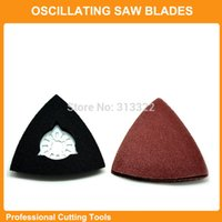 Wholesale Sanding paper Triangular sanding pad fits for Fein Dremel multifunction oscillating power multi tools