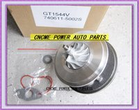 Turbochargers Hyundai 2004 Turbo Cartridge CHRA GT1544V 740611-5002S 740611 28201-2A100 782403 Turbocharger For Hyundai Matrix Getz KIA Cerato Rio D4FA D4FB 1.5L 1.6L