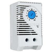 Wholesale Good quanlity Room Exhaust Fan Thermostat Compact Mechanical Thermostat Temperature Controller