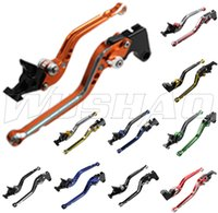 Wholesale Mixed color Motorcycle Adjustable Long Brake Clutch Levers For Honda CBR1100XX CBR XX VFR800 VFR ST1300 ST1300A ST