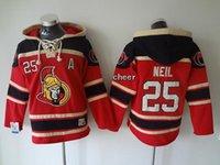 low price hoodies - 2016 Newest Men s Ottawa Senators neil red Hoodies Jersey Ice Hockey Jerseys Best Quality Low Price