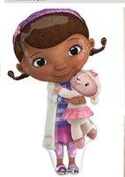 doc mcstuffin - 1603 New Arrival Cartoon Movie Doc McStuffin Plush Toys Doc McStuffins Plush Doll cm Lambie Plush cm Set