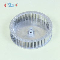 aluminum impeller - high speed high CFM mm diameter mm height mm shaft aluminum blower fan small blade wheel Multivane impeller good balance