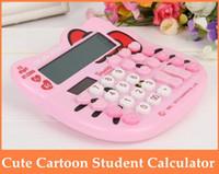 Wholesale Cute Hello Office School Calculator Digits Students Calculators order lt no track