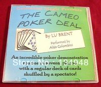 video poker - Aldo Colombini Lu Brent s Cameo Poker Deal Only The teaching Video send via email no gimmick