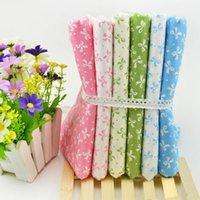 Wholesale 6pcs Multi colored Series Cotton Quilt Fabric Patchwork Fabric Square CM Fat Quarters Bundles