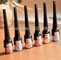 Cheap 1Pcs Cosmetic Waterproof Liquid Eyeliner Pen Makeup in Cute Bottle Women Beauty Care Eye Liner