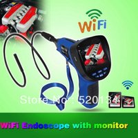 auto borescope - SB IE99EW mm M electronic industrial car auto inspection camera wireless portable video WiFi waterproof borescope
