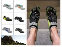 Wholesale 2014 Men s Sport Five Fingers SEYA1368 Mountain Rock Climbing Hiking Shoes Women Men Flats Athletic Fingers Shoes