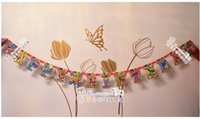 Wholesale Birthday party banner banner Party Happy birthday variety of birthday letters brace