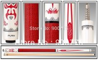 Wholesale Fury Pool Cue Model OP Fury Chna Style Special select Hard Rock Maple shaft mm mm Tip optional