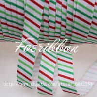 foe - New arrival quot printed fold over elastic for Christmas foe elastic for hair accessories yards
