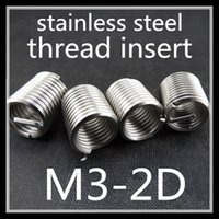 Wholesale 7000pcs high quality stainless steel M3 D wire thread insert M3 D screw bushing M3 Helicoil