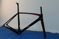 asymmetric carbon - DIY carbon fiber cycling bike parts carbon frame framesets Asymmetric carbon road bike frame UD bicycle frame internal cable